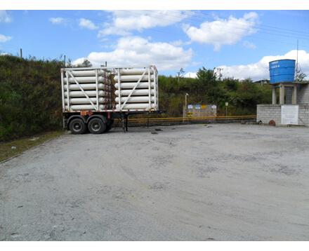 Locação de carretas para GNC